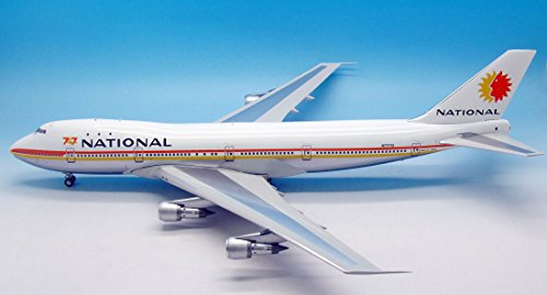 National Airlines 747-135 (1:200) Polished Belly