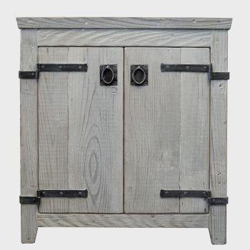 "Native Trails VNB309 Americana Bathroom Vanity Base, 30"", Driftwood"