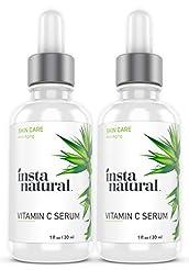 InstaNatural Vitamin C Serum 2-Pack Skin...