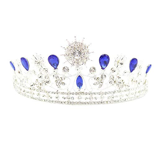 Wedding Bridal Diamante Crystal Headband Princess Hair Comb Tiara Bands Crown
