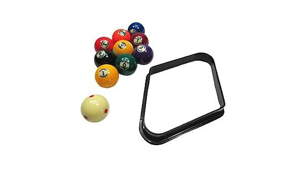 Triángulo De Plástico Para Snooker / Billar, Trípode De Billar, Soporte De Bola Oscilante Para Bastidor Con Bordes Redondeados Reforzados 8/9 Bola Caja Bolas De Billar - Accesorios De Mesa De Billar: