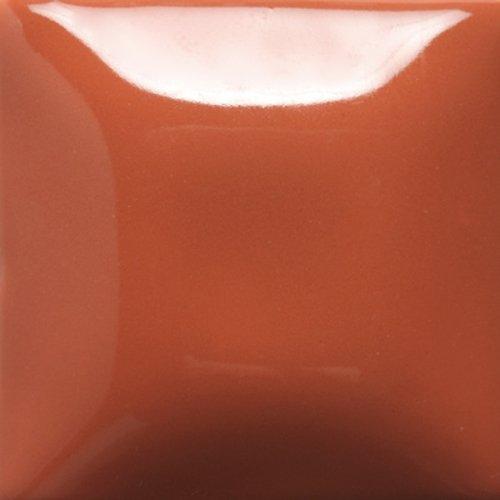 Mayco Stroke & Coat Wonderglaze for Ceramic Bisque - 8 oz - SC80 - Basketball -