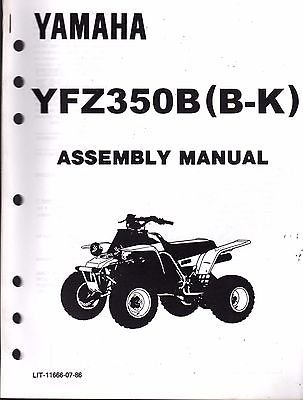 Used, 1991 YAMAHA ATV 4 WHEELER YFZ350B (B-K) ASSEMBLY SERVICE for sale  Delivered anywhere in USA