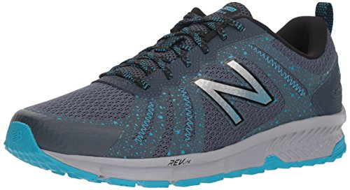 New Balance Women's 590v4 FuelCore Trail Running Shoe, Dark Grey, 5.5 B US by New Balance (Image #1)