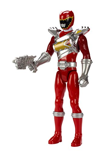 """Power Rangers Dino Super Charge - 12"""" Dino Drive Red Ranger Action Figure"""