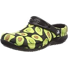Crocs Men's and Women's Bistro Graphic Clog   Slip Resistant Work Shoe   Great Nursing or Chef Shoe