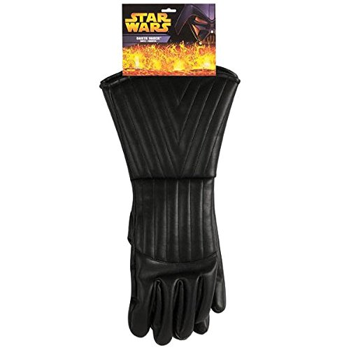 Rubie's Costume Co Adult's Darth Vader Gloves, Black, One -