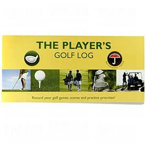 Amazon.com : Players Golf Log Book : Golf Bag Accessories : Sports ...