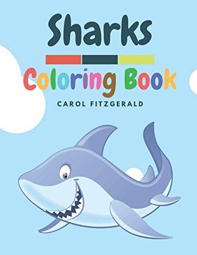 Download SHARKS: A Sharks Coloring Book for Kids pdf epub