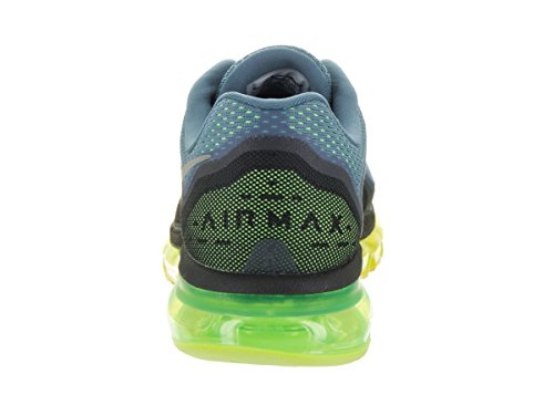 Nike Mens Air Max 2014 Lift Blu Riflettere Argento Flash Lime Hype Nero