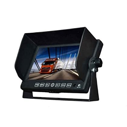 Image of BOYO VTM7012 - 7' TFT-LCD Backup Camera Monitor with Built-in Speaker Car Video