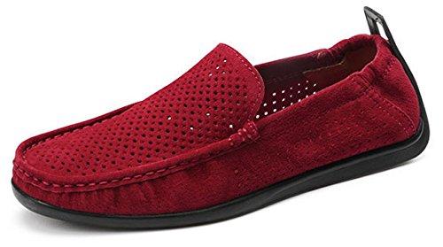 los engranan Verano de Holgazanes Zapatos Red Oscuros Rojos Grises los del de Los Barco Superiores Beige Grises Superiores Azules del Hombres los Zapatos 364 wgIvYgqP
