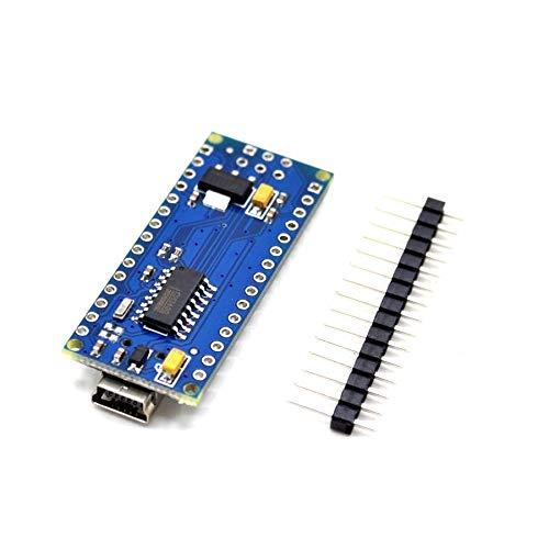 2PCS Nano 3.0 Controller Compatible for arduino Nano CH340 USB Driver NO Cable