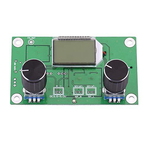 Icstation Digital FM Radio, DSP & PLL Digital Stereo FM Radio Receiver Module 87-108MHz Support Serial Port Control