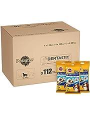 Pedigree DentaStix Daily Dental Chews for Medium Dogs 10-25 kg, 28 Sticks, 4 x 180 g (Pack of 4)