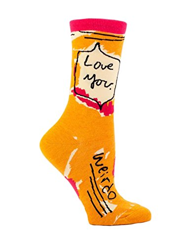 Blue Sock Love Weirdo Socks product image