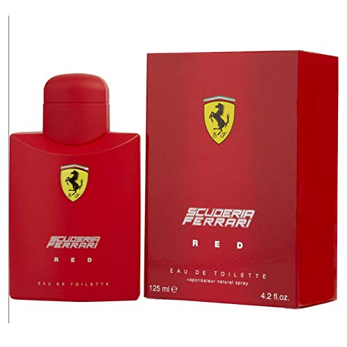 (Ferrari Red Eau De Toilette Parfum perfume Spray 125 ml / 4.2)