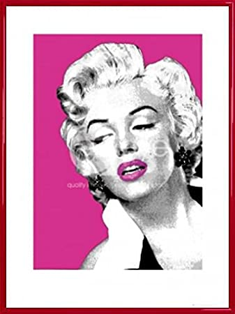 Amazon.com: Marilyn Monroe Poster Art Print and Frame (Plastic ...