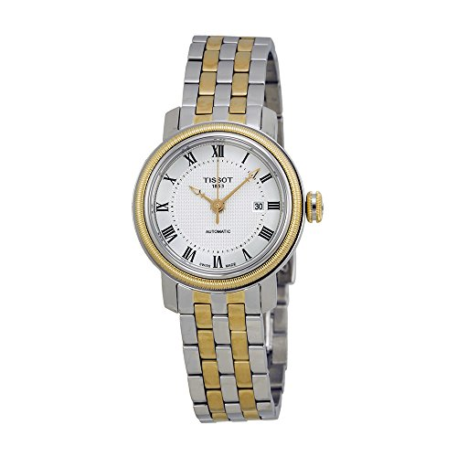 Tissot Bridgeport Lady Silver Dial Two-tone Ladies Watch T0970072203300