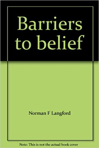 BARRIERS TO BELIEF Amazoncouk Norman F Langford Books