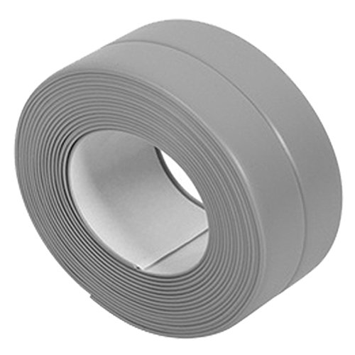 SODIAL(R) Self Adhesive Bath Wall Sealing Strip Sink Basin Edge Trim 38mmx3.2m (Self Adhesive Bath)