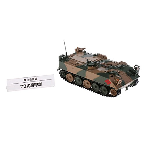 DYNWAVE Models 1/72 Scale Japanese Type 73 APC - Japanese Army Tank Toy Model Display Collectible (Medium Japanese Tank)