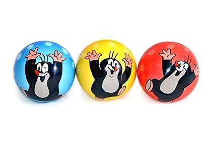farblich sortiert 10 cm Der Kleine Maulwurf Softball Preis pro St/ück