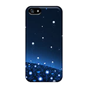 Durable Defender Case For Iphone 5/5s Tpu Cover(flower Of Hope)