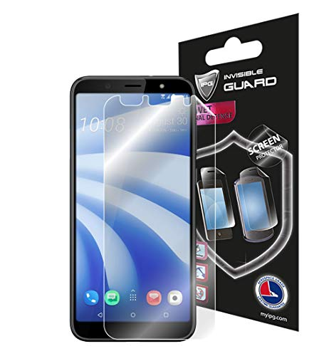IPG for HTC U12 Life Screen Protector Invisible Touch Screen Sensitive Ultra HD Clear Film Anti Scratch Skin Guard - Smooth/Self-Healing/Bubble -Free Screen