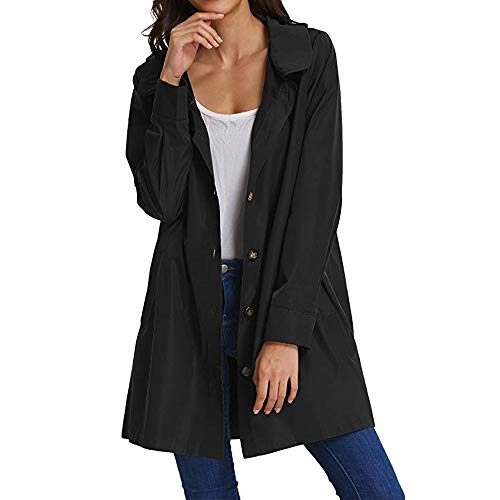 Veste Taille Tunique Solike Oversize Gilet Long Noir Cardigan Manteau Jumper Casual Pull over Femme Top Unie Sweat Grande Sweatshirt BBPtZq