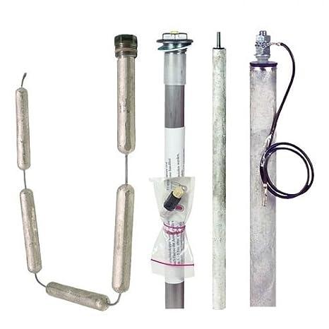 Magnesiumanode für isolierten Einbau 500 x Ø22 mm Anode M8 x 30