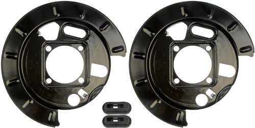 Dorman 924-221 1PR.Rear L&R Brake Dust Shield Backing Plate 19178785 19178786 (Rear Dust Shield)