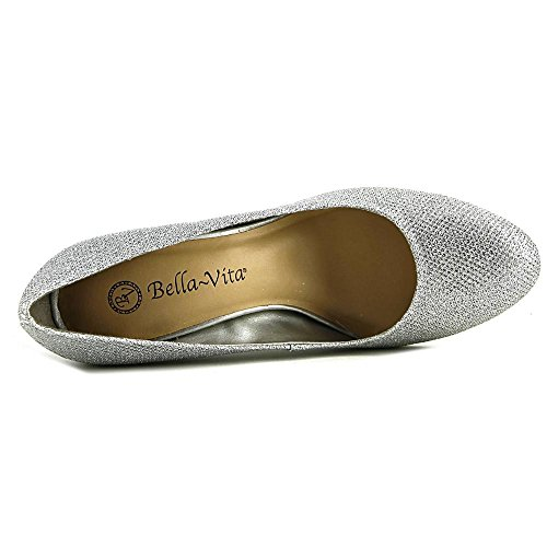 glitter Silver Vita Women's Nara Bella Pump Dress g6HzYT