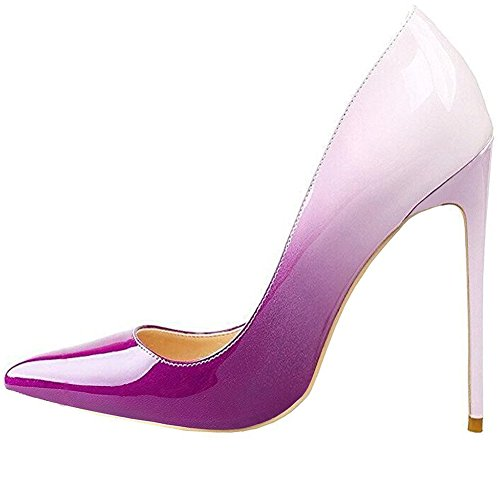 Cuckoo Women's Pointed Toe Stiletto High Heels Office Shoes