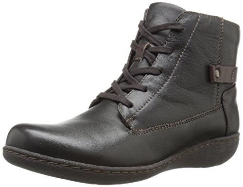 Clarks Fianna Tara Boot Brown Wlined Leather