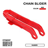 Motorcycle Red Plastic Chain Slider Guide Protector For HONDA XR250R 1991-2004 XR400R 1996-2004 XR600R 1991-2000 XR650L 1993-2019