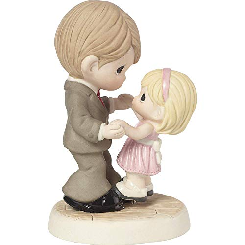 Precious Moments Father Daughter You're Here for Me Every Step of The Way Bisque Porcelain 183006 Figurine One Size Multi