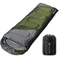 FreeLand Camping Sleeping Bag for Backpacking, Hiking & Traveling (Green)