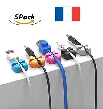Ladekabel Aufbewahrung click button 5 kabel nachhaltige mehrfarbig cache kabel