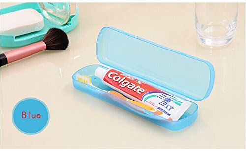 Portable Candy Colors Travel Camping Toothpaste Toothbrush Holder Protect Case