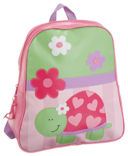 Stephen Joseph Turtle - Stephen Joseph Little Girls'  Gogo Turtle Bag,Lime Green/Pink,One Size
