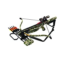 Arrow Precision Inferno Trek Heat Recurve Crossbow Kit, 175-Pound, Camo