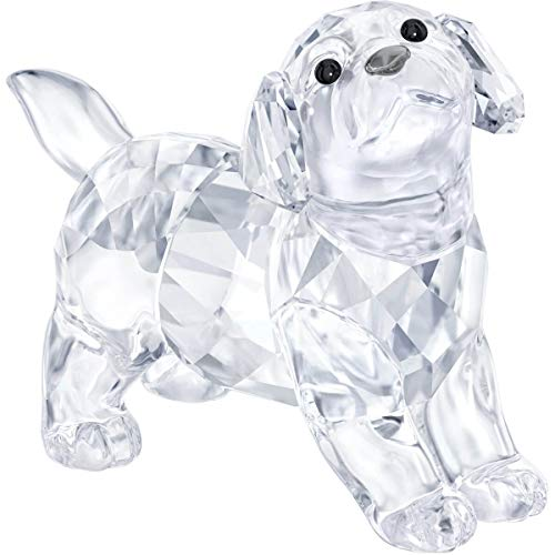 Swarovski Labrador Puppy, Standing Crystal Figurine, for sale  Delivered anywhere in USA