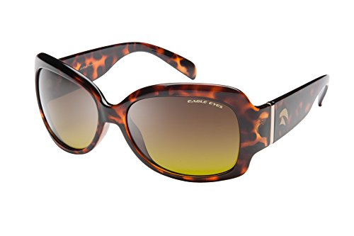 Eagle Eyes HALLEY Womens Polarized Sunglasses - - Sunglasses Light Enhancing