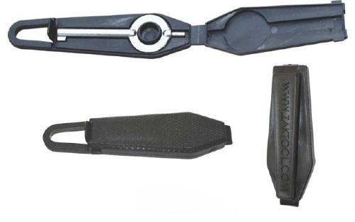 Zak Tool Survival Cuff Key – Black 2-piece set No. 99, Outdoor Stuffs