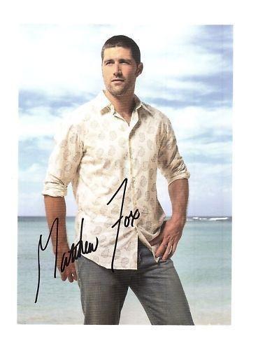 Matthew Fox-signed photo - coa - - Matthew Signed Photo Fox