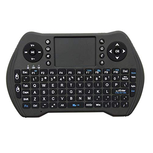 (Basde MT10 2.4GHZ Mini Wireless Bluetooth Keyboard Touchpad Air Mouse Support Android, Backlit Gaming Keyboard Mouse Combo for Windows PC Gamers [Keyboard Mouse Set])
