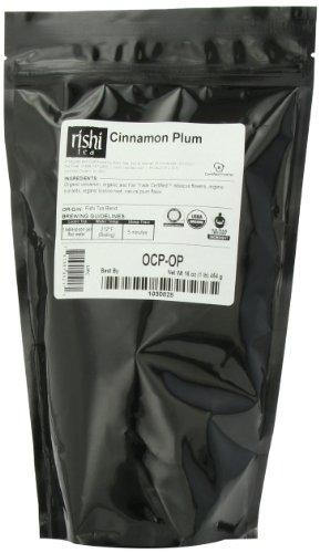 Rishi Tea Organic, Cinnamon Plum, 1-Pound - Rishi Organic Cinnamon Plum Tea