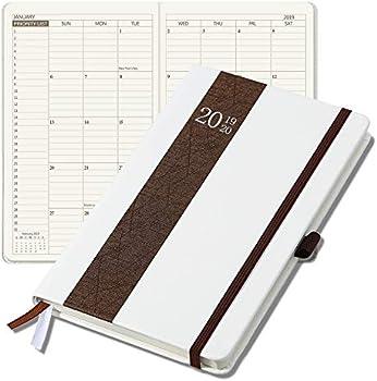 Neustern 2019 Weekly/Monthly Academic Year Agenda Hardcover Planner