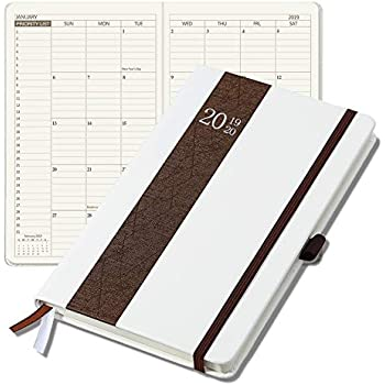 Amazon.com : 2019 Planner, Hardcover Weekly Monthly Yearly ...